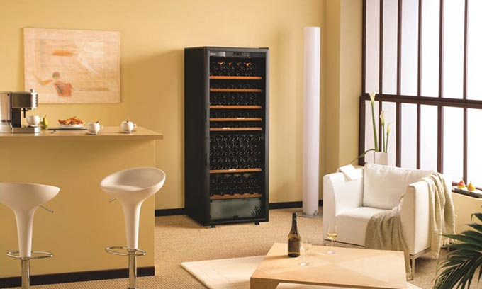 EuroCave Classic Wine Cabinet V283 Wine Fridge Dining Room