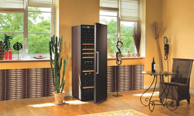 Wine Cabinet, EuroCave, Wine Fridge, In Home Wine Preservation