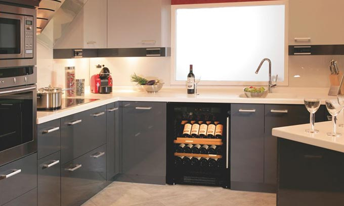 Wine Fridge Amp Cabinet For Kitchen With Integrated Door