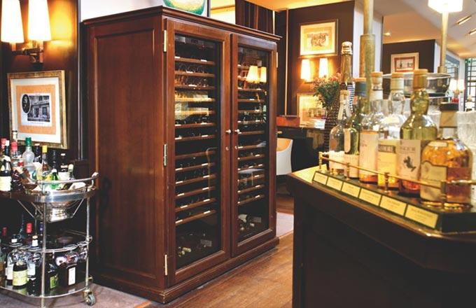 EuroCave Wine Cabinet.  Furniture Piece for Boardroom or Home.  Elite Range.