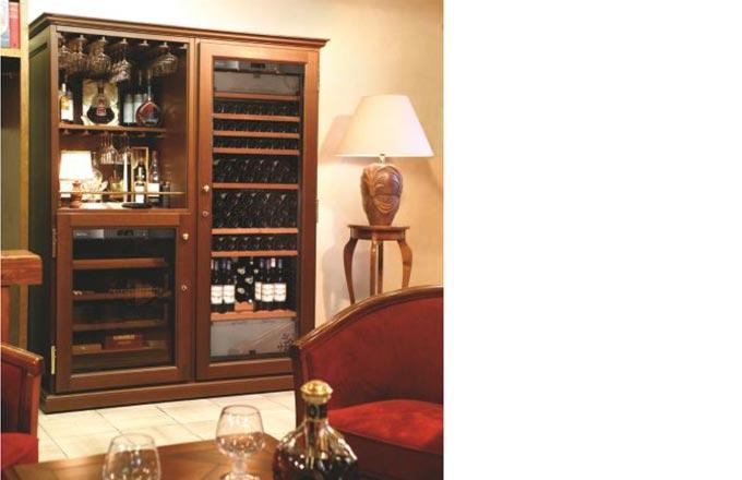 EuroCave Wine Cabinet.  Furniture Piece for Boardroom or Home.  Elite C8.