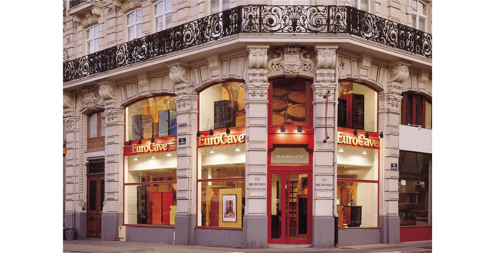 eurocave showroom paris france