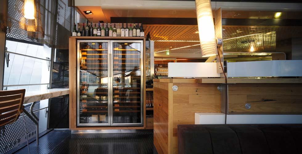 eurocave wine cabinet taxi restaraunt melbourne