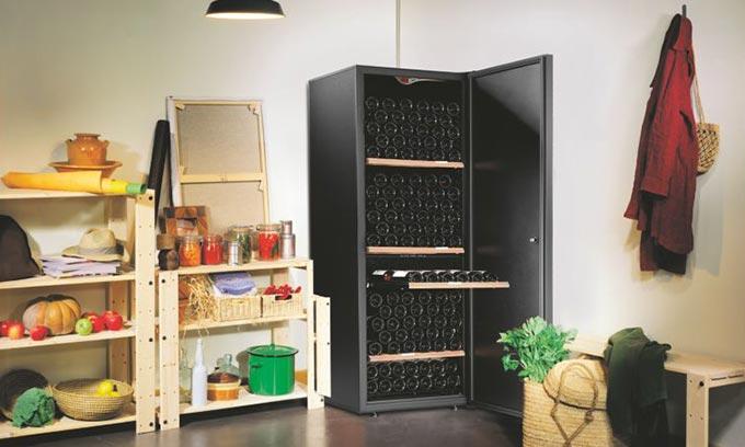 EuroCave Wine Cabinet Premiére Range Pantry V266 Large Wine Preservation