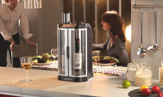 EuroCave SoWine Home Wine Serving Ideal Temperature