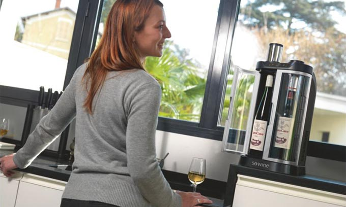 EuroCave SoWine Keep Bottles of Wine Open Without Waste