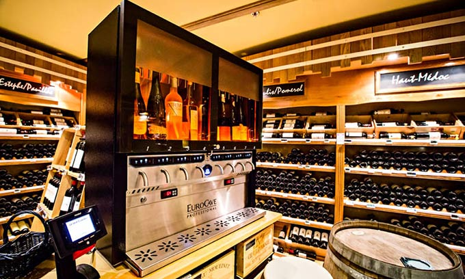 EuroCave Wine In Store Sales by the Glass