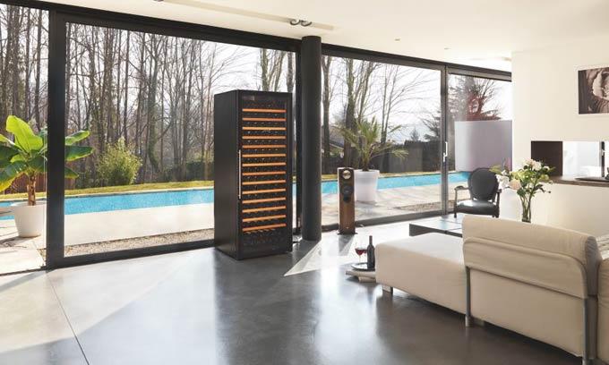 EuroCave Pure Wine Cabinet Full Glass Door