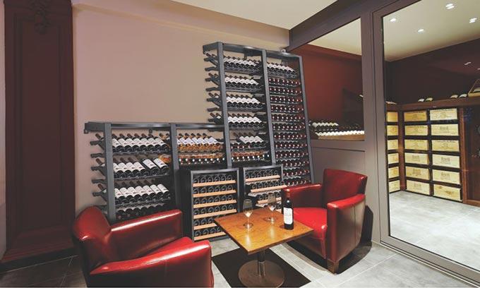 EuroCave Wine Racks Modulosteel