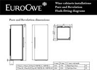 EuroCave Pure Flush Fittings Diagram
