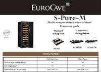 EuroCave S-Pure-M techincal data