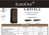 EuroCave S-Revel-L Technical Data Sheet