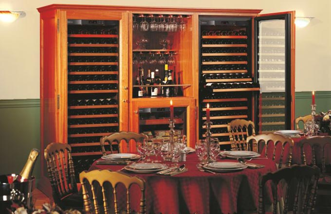 EuroCave Wine Cabinet.  Furniture Piece for Boardroom or Home.  Elite C9.