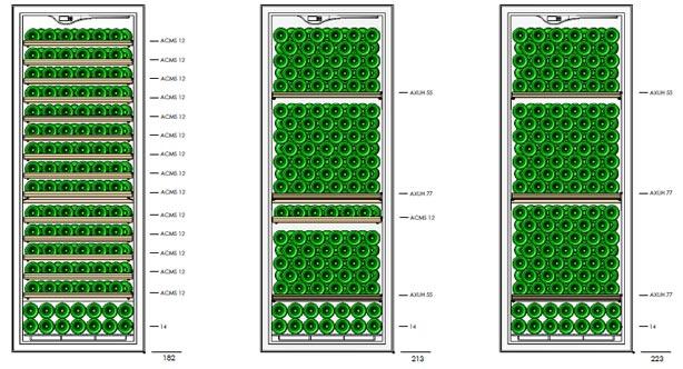 Eurocave premiere v266 shelving configuration