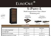EuroCave S-Pure-L techincal data