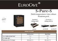 EuroCave S-Pure-S techincal data