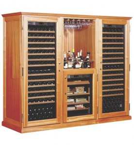 EuroCave Elite C9 Wood Furniture Wine Cabinet