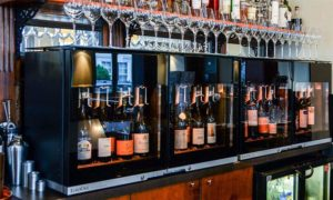 Solutions for venues offering wine by the glass. Display, serve and preserve wine at ideal temperature