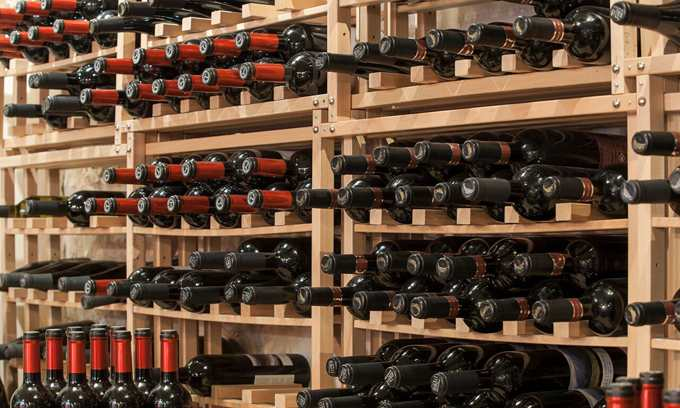 Modulocube Wine Racks