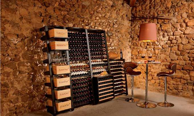 Modulosteel Wine Racks