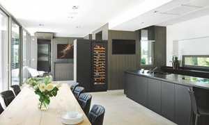 V INSP L amb cuisine noir wenge FG wood service