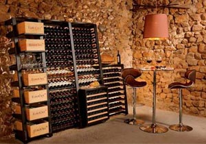 EuroCave Modulosteel Wine Racking